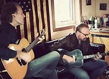 Boo Hewerdine and Brooks Williams interview and session